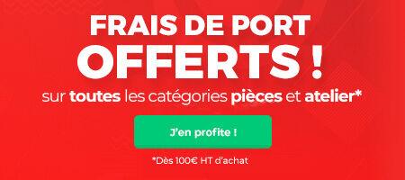 Frais de port offerts dès 100€ d'achat