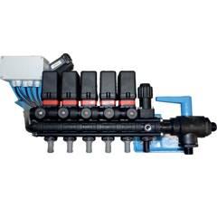 Vanne électrique 3 voies 5 tronçons pour pulvérisateur BERTHOUD 218810