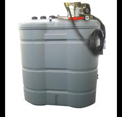 Cuve à fioul 1500 litres avec pompe - DURAPLAS