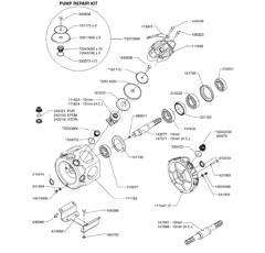 Pièces détachées pour pompe HARDI 463